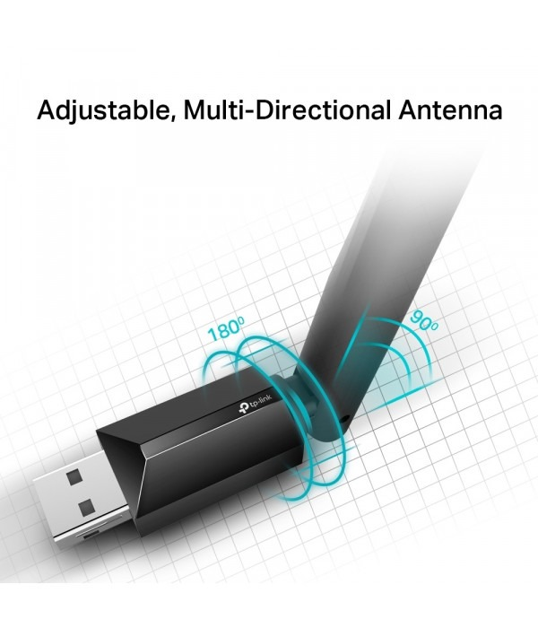 TP-Link Archer T2U Plus - Сетевой адаптер