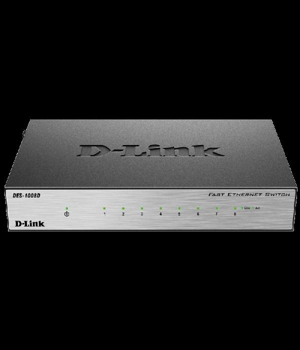 D-Link DES-1008D - Коммутатор