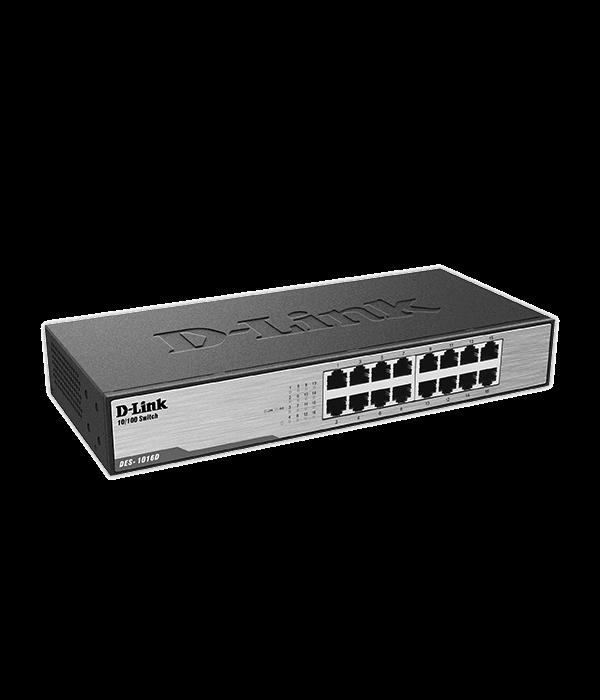 D-Link DES-1016D-H1A - Коммутатор