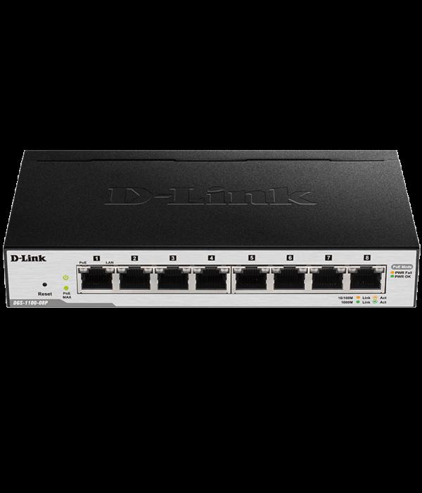 D-Link DGS-1100-08P/B1A - Коммутатор