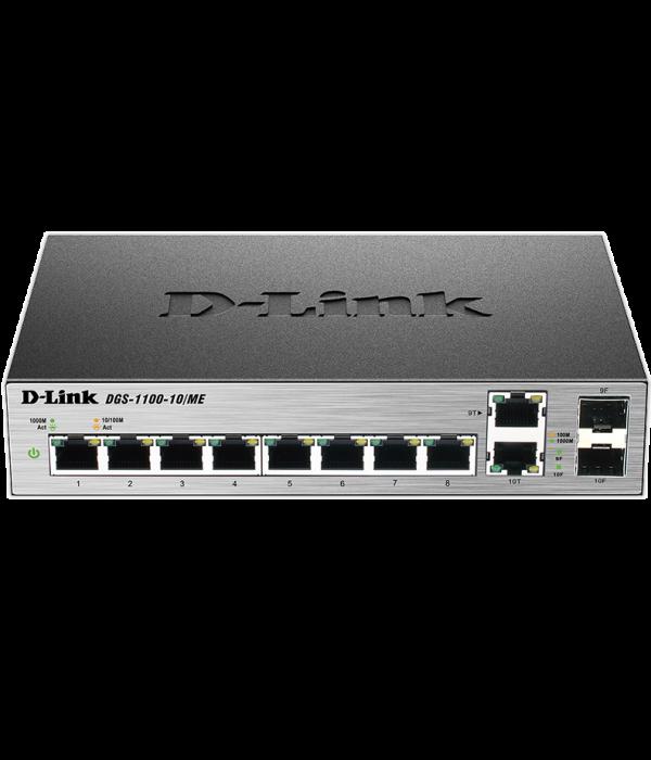 D-Link DGS-1100-10/ME - Коммутатор