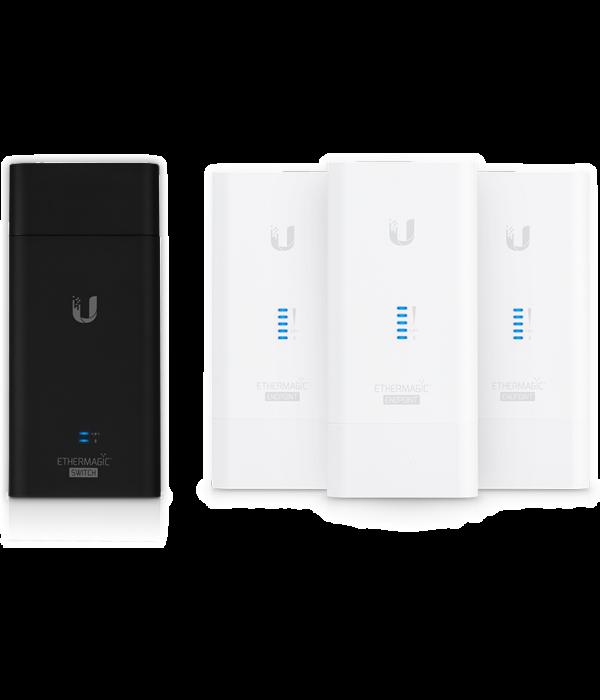 Ubiquiti EtherMagic Switch/EndPoint Kit - Оборудование Powerline