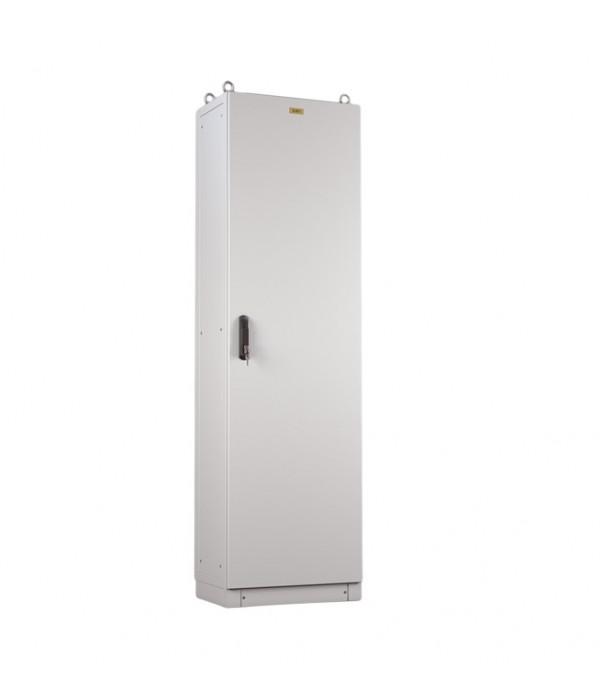 Elbox Отдел. электротех. шкаф IP55 в сборе (В1600*Ш800*Г600) EME с одной дверью, цоколь 100 мм.(EME-1600.800.600-1-IP55) - Телекоммуникационные шкафы, ящики