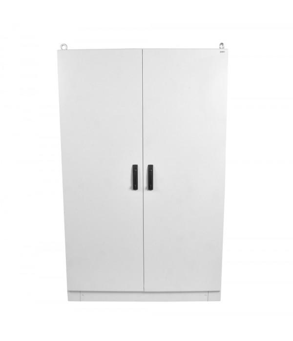 Elbox Отдел. электротех. шкаф IP55 в сборе (В2200*Ш1200*Г400) EME с двумя дверьми, цоколь 100 мм. (EME-2200.1200.400-2-IP55) - Телекоммуникационные шкафы, ящики