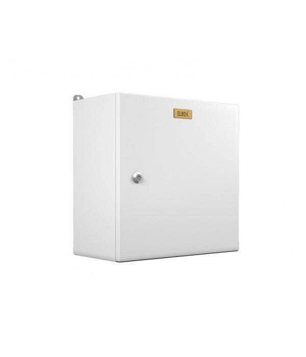 Elbox Электротех. распред. шкаф IP66 навесной (В500*Ш500*Г300) EMW c одной дверью (EMW-500.500.300-1-IP66) - Телекоммуникационные шкафы, ящики