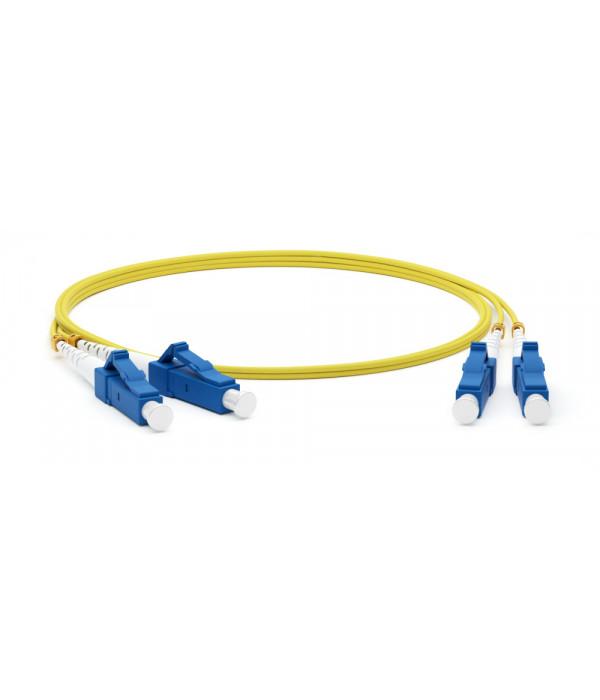 Hyperline FC-D2-9-LC/UR-LC/UR-H-2M-LSZH-YL - Патчкорд оптический