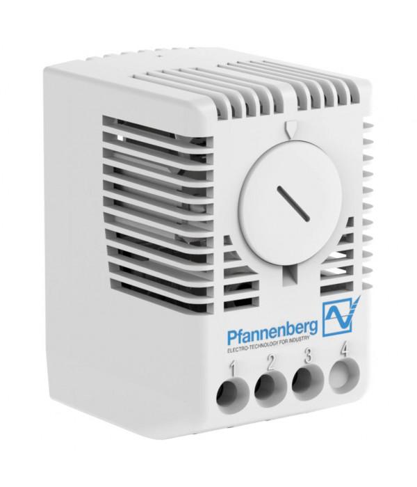 ЦМО Терморегулятор (термостат) Н.З. (нагреватель), 0..+60 °C, 230 В (FLZ 520) - Аксессуар для коммуникационных шкафов