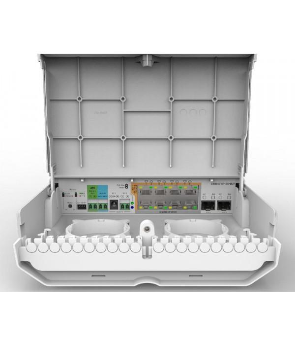MikroTik netPower Lite 8P - Коммутатор