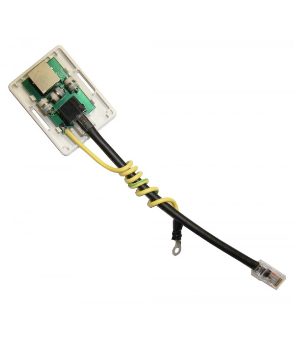 Грозозащита портов ethernet 10/100 мбит. SOSNA-1000 - Грозозащита