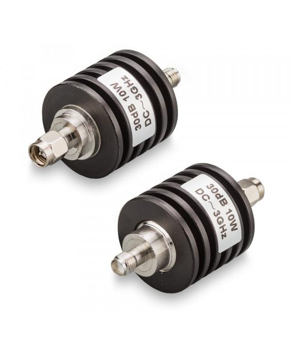 Аттенюатор 30 дБ SMA-50-30-10 (0-3 ГГц) - Аттенюаторы и нагрузки