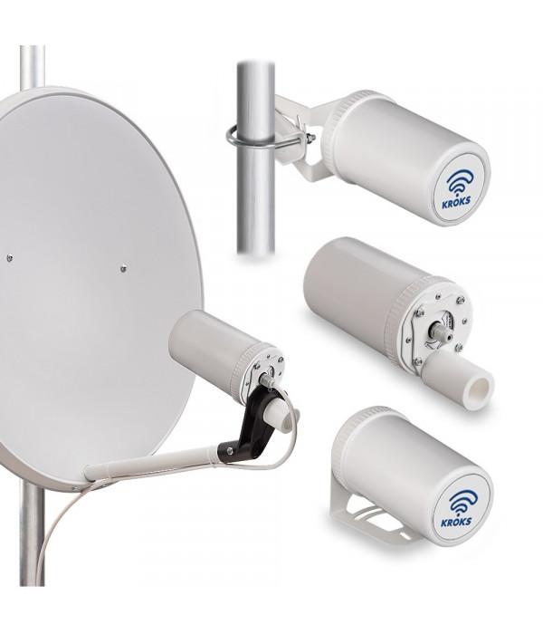 Комплект KSS-Pot MIMO Stick под USB модемом для установки в спутниковую антенну - 3G/4G Модем