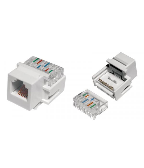 Hyperline KJ1-6P6C-C2-90-WH -