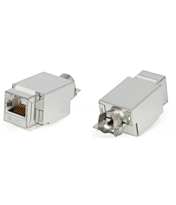 Hyperline KJ2-8P8C-C6-90-SH-F-WH -