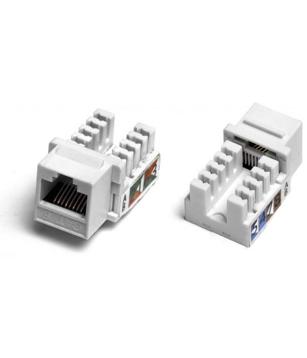 Hyperline KJ2-8P8C-C6-90-WH -