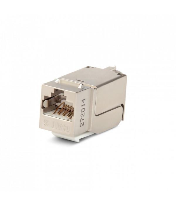 Hyperline KJNE-8P8C-C6-90-SH-F-WH -