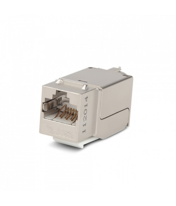 Hyperline KJNE-8P8C-C6A-90-SH-F-WH -