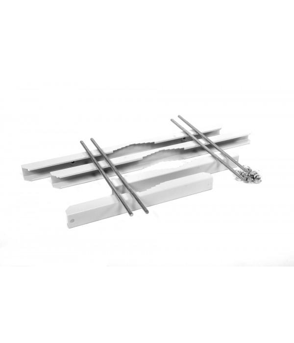 ЦМО Комплект крепления усиленный на столб для шкафов ШТВ-Н (ККС-ШТВ-600У) - Аксессуар для коммуникационных шкафов