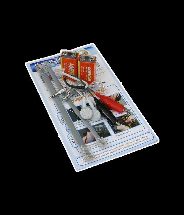 """Тестер универсальный для витой пары RJ-11/RJ-45   LK-808""""  (WireTracker TM-9)"""" - Инструмент монтажный"""