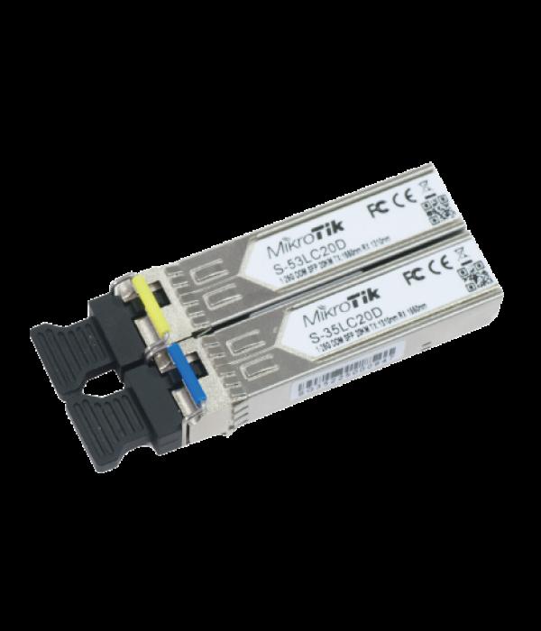 Оптический модуль Mikrotik S-3553LC20D - Трансивер