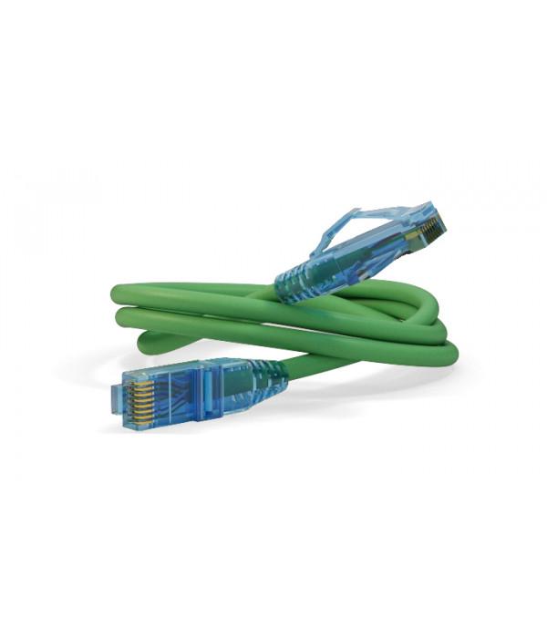 Hyperline PC-LPM-UTP-RJ45-RJ45-C6-0.3M-LSZH-GN - Патчкорд медный