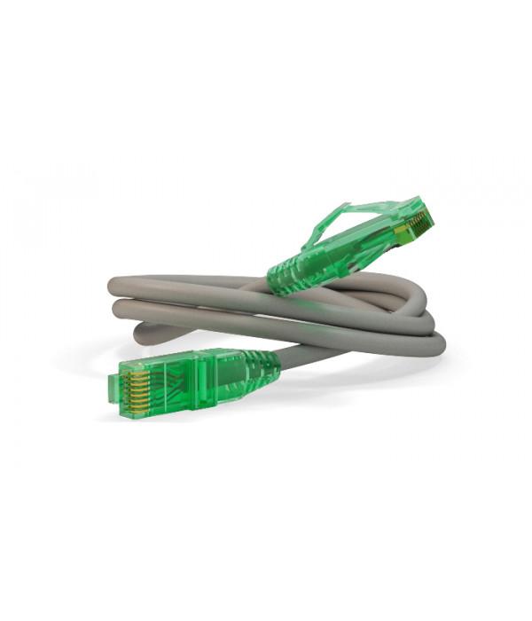 Hyperline PC-LPM-UTP-RJ45-RJ45-C6a-20M-LSZH-GY Патч-корд U/UTP, Cat.6a 10G, LSZH, 20 м, серый - Патчкорд медный