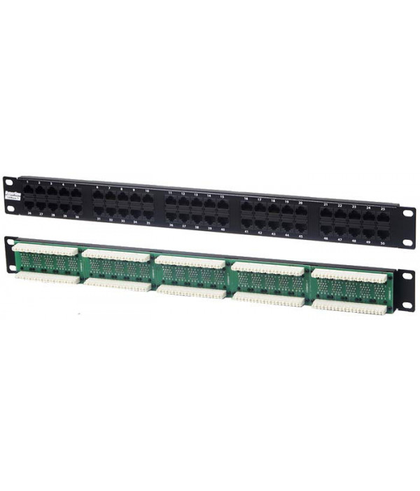 Hyperline PP-19-50T-8P8C-C2-110D - Патч-панель