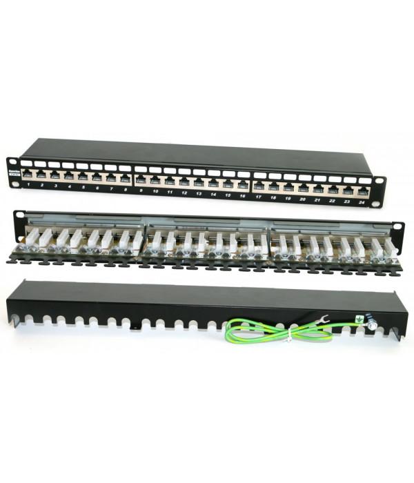 Hyperline PP2-19-24-8P8C-C6A-SH-110D - Патч-панель