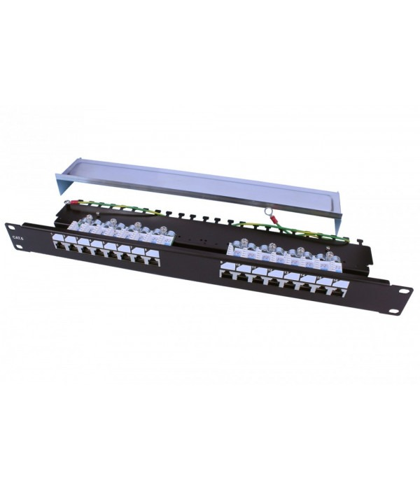 Hyperline PP3-19-16-8P8C-C6-SH-110D - Патч-панель