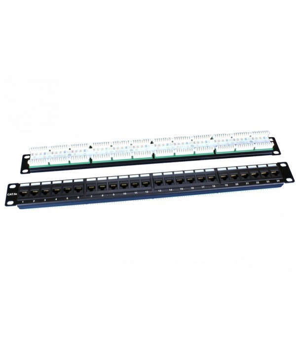 Hyperline PP3-19-24-8P8C-C5E-110D - Патч-панель