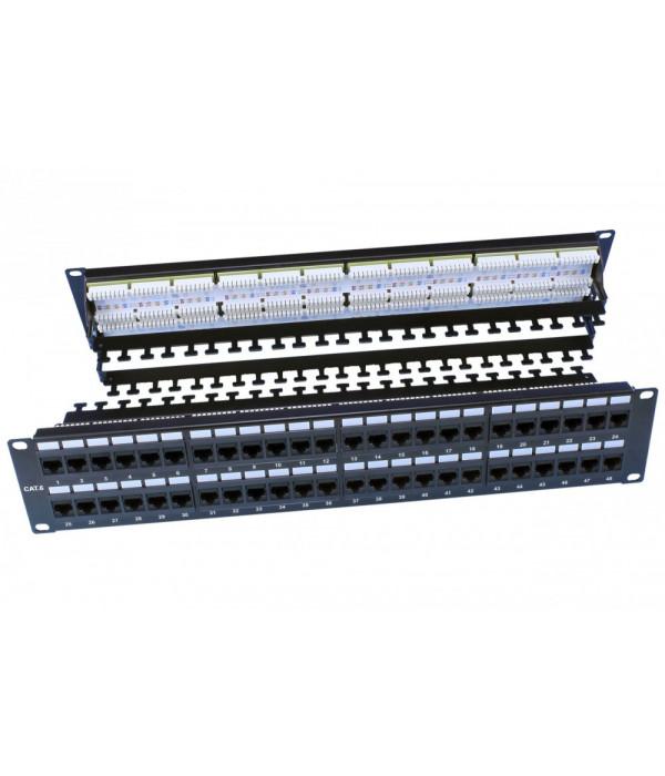 Hyperline PP3-19-48-8P8C-C6-110D - Патч-панель