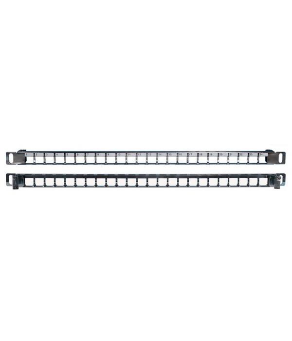 Hyperline PPBLHD-19-24S-SH-RM - Патч-панель