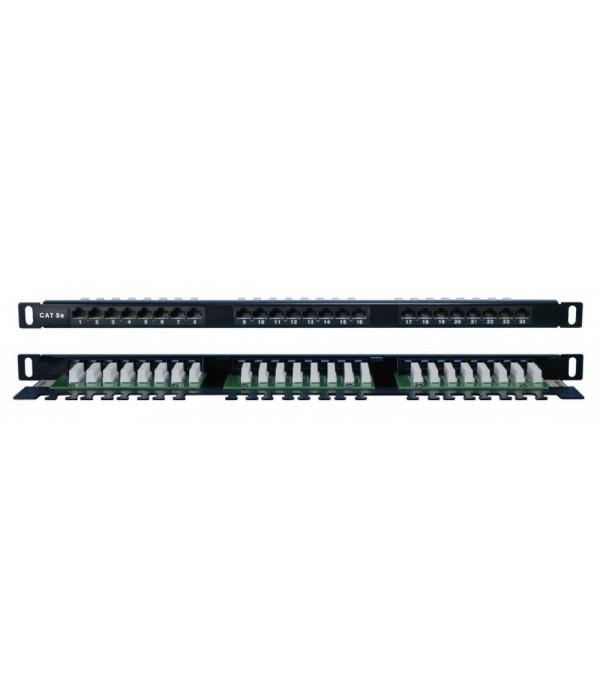 Hyperline PPHD-19-24-8P8C-C5E-110D - Патч-панель