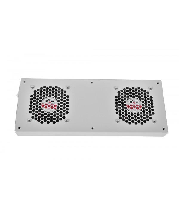 ЦМО Модуль вентиляторный, 36V-48V, 2 вентилятора с терморегулятором, колодка R-FAN-2TJ-36V-48V - Аксессуар для коммуникационных шкафов