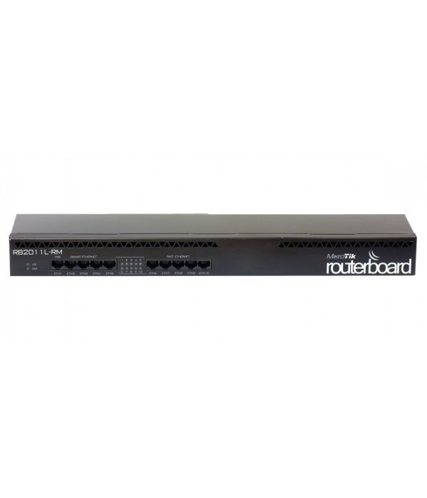 Mikrotik RB2011L-RM - Маршрутизатор операторский