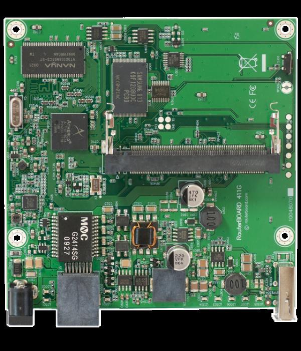 Mikrotik RouterBoard 411GL - Материнские платы для маршрутизаторов