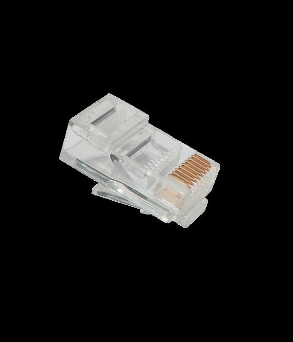 Коннектор EuroLan UTP RJ45, Cat.5e, 8p8c, gilded - Коннекторы, соединители