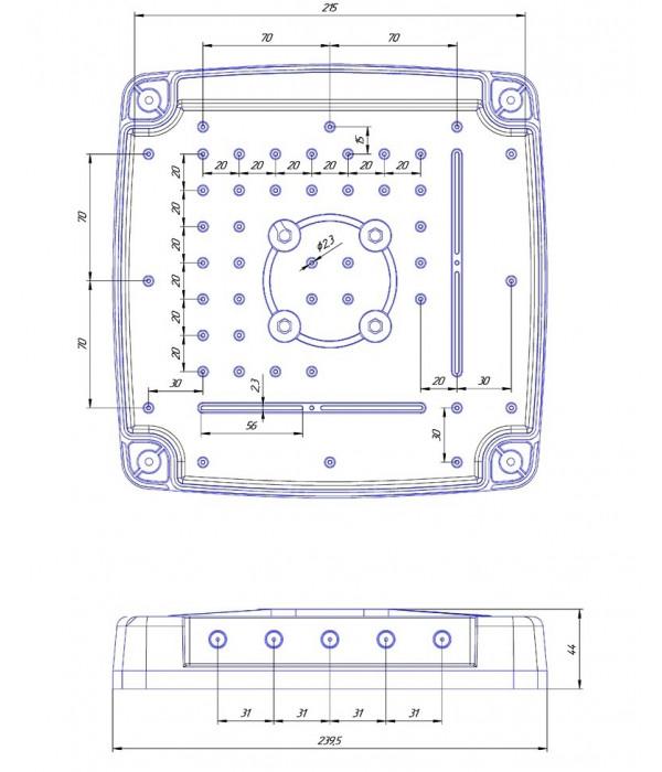 Kroks Rt-Ubx sHw с USB модемом Huawei E3372, встроенный в антенну - Клиентское устройство, Маршрутизатор с 3G/4G