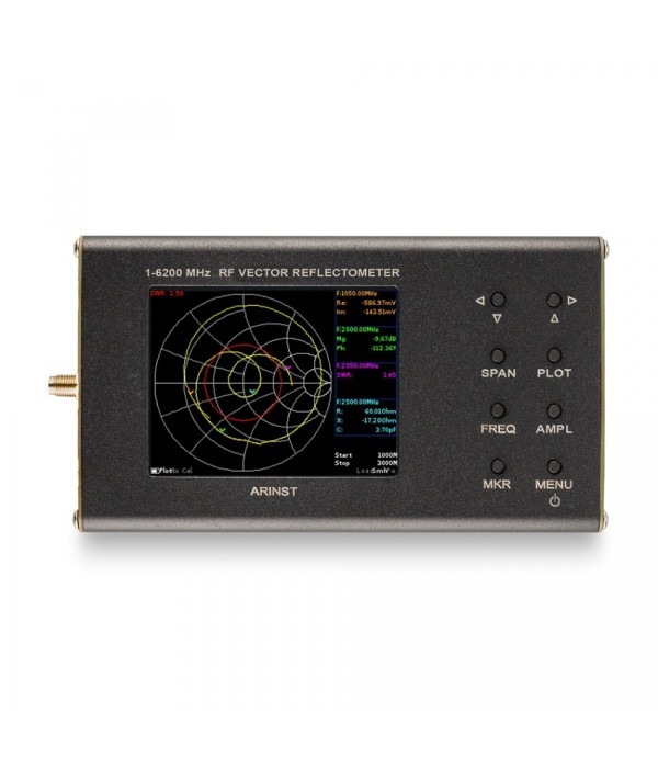 Портативный векторный анализатор цепей ARINST VR 1-6200 - Спектр анализатор