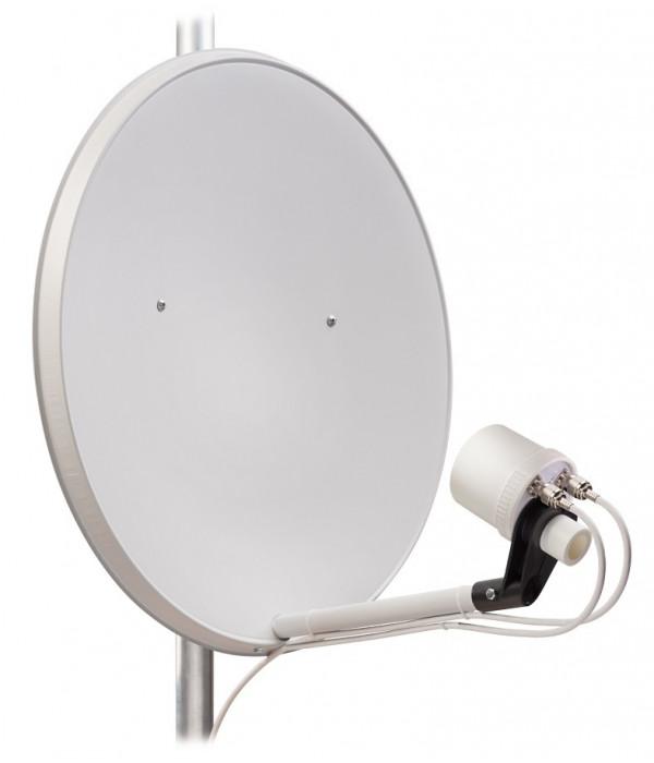 Широкополосный MIMO облучатель KIP9-1700/2700 DP для спутниковой тарелки 1700 - 2700 МГц - Антенна
