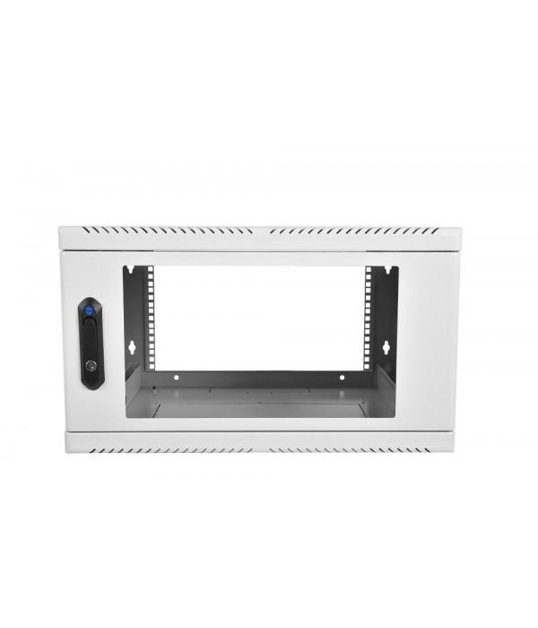 ЦМО! Шкаф телеком. настен, 6U, 600х480 дверь стекло (ШРН-6.480) (1 коробка) - Телекоммуникационные шкафы, ящики