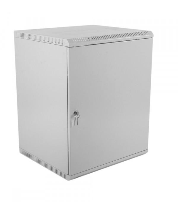 ЦМО! Шкаф телеком. настенный разборный 12U (600х520) дверь металл (ШРН-Э-12.500.1) (1 коробка) - Телекоммуникационные шкафы, ящики