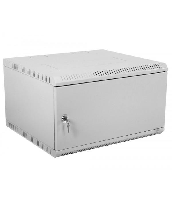 ЦМО! Шкаф телеком. настенный разборный 6U (600х350) дверь металл (ШРН-Э-6.350.1) (1 коробка) - Телекоммуникационные шкафы, ящики