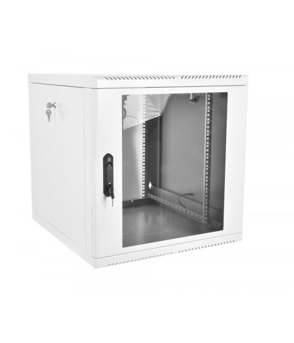 ЦМО! Шкаф телеком. настенный разборный 15U (600х550), съемные стенки, дверь стекло (ШРН-М-15.500) (1 коробка) - Телекоммуникационные шкафы, ящики