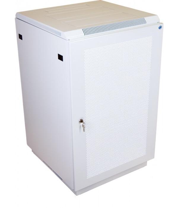 ЦМО! Шкаф телеком. напольный 27U (600x1000) дверь перфорированная 2 шт. (ШТК-М-27.6.10-44АА) - Телекоммуникационные шкафы, ящики
