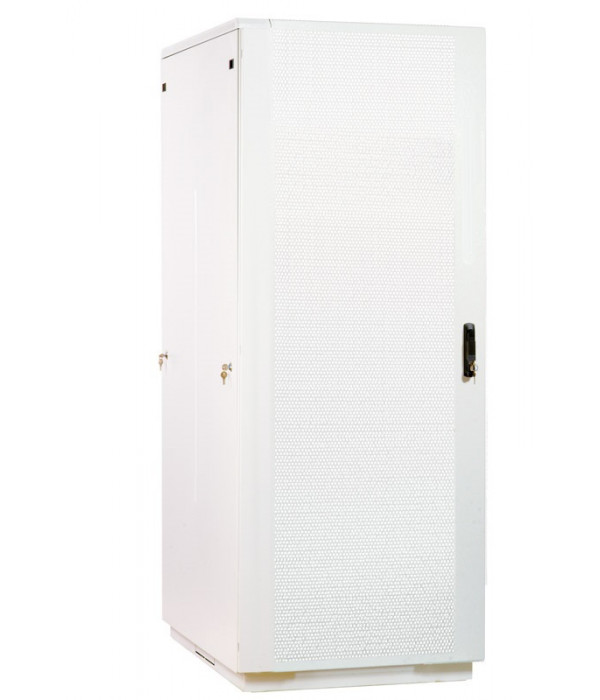 ЦМО! Шкаф телеком. напольный 38U (800x1000) дверь перфорированная (ШТК-М-38.8.10-44АА) - Телекоммуникационные шкафы, ящики