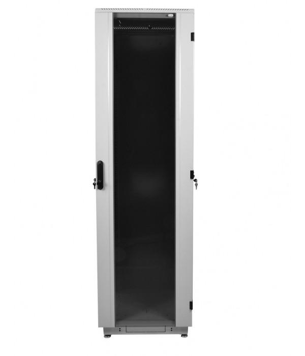 ЦМО! Шкаф телеком. напольный 42U (600x1000) дверь стекло (ШТК-М-42.6.10-1ААА) (3  коробки) - Телекоммуникационные шкафы, ящики