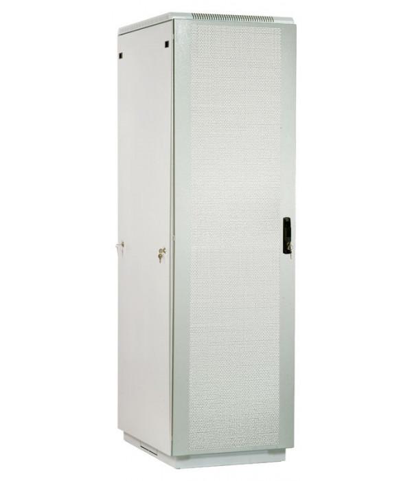 ЦМО! Шкаф телеком. напольный 42U (600x600) дверь перфорированная  (ШТК-М-42.6.6-44АА) (3 коробки) - Телекоммуникационные шкафы, ящики
