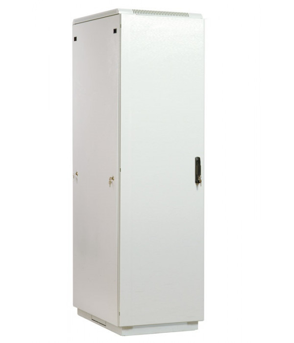 ЦМО! Шкаф телеком. напольный 42U (600x800) дверь металл (ШТК-М-42.6.8-3ААА) (3 коробки) - Телекоммуникационные шкафы, ящики
