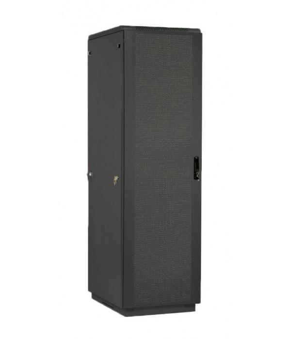 ЦМО! Шкаф телеком. напольный 42U (800x1000) дверь перфорир. 2 шт. (ШТК-М-42.8.10-44АА-9005) (3 коробки) (черный) - Телекоммуникационные шкафы, ящики