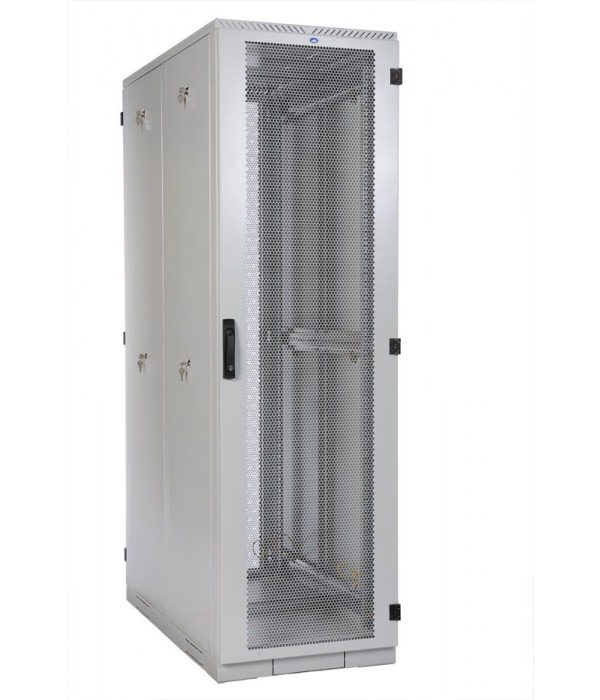 ЦМО! Шкаф серверный напольный 45U (800x1000) дверь перфорированная 2 шт. (ШТК-С-45.8.10-44АА) (3 места) - Телекоммуникационные шкафы, ящики